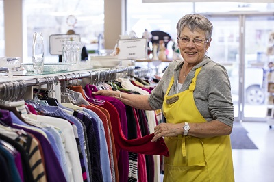 Volunteer at Rutland Thrift Store
