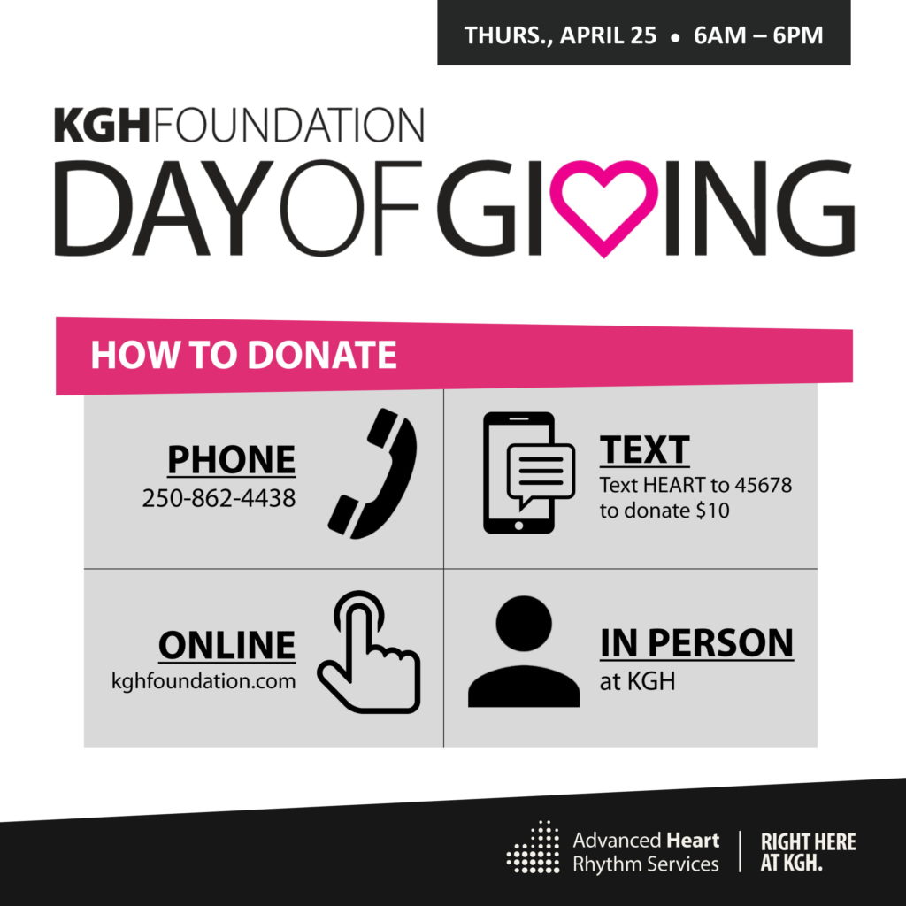 KGH Foundation Day of Giving